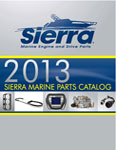 Screen shot of Sierra marine & outboard parts and accessories catalogue